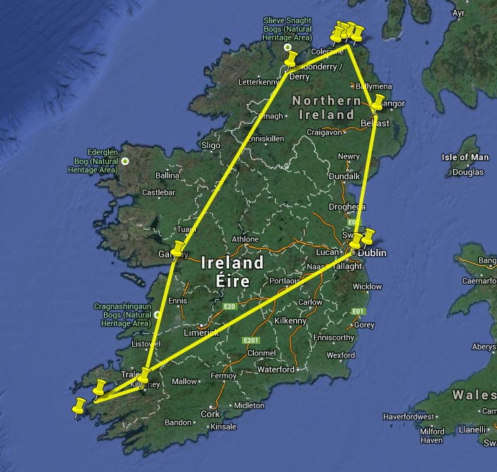 Irland Route