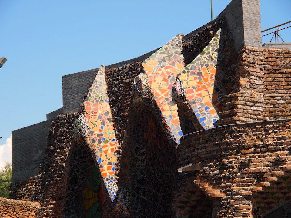 Colonia Güell Katalonien