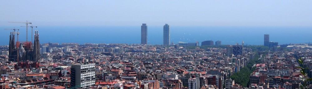 Barcelona Ausblick Tibitabo