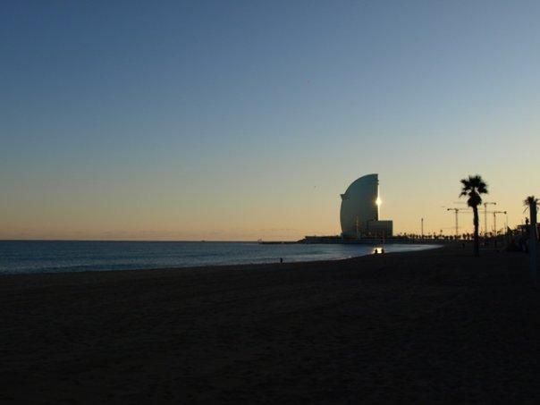 Barceloneta Winter