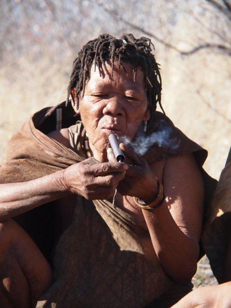 Buschmänner Kalahari