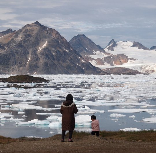 Eskimo Inuit Kulusuk