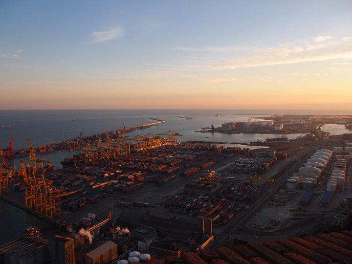 Hafen Barcelona Montjuic