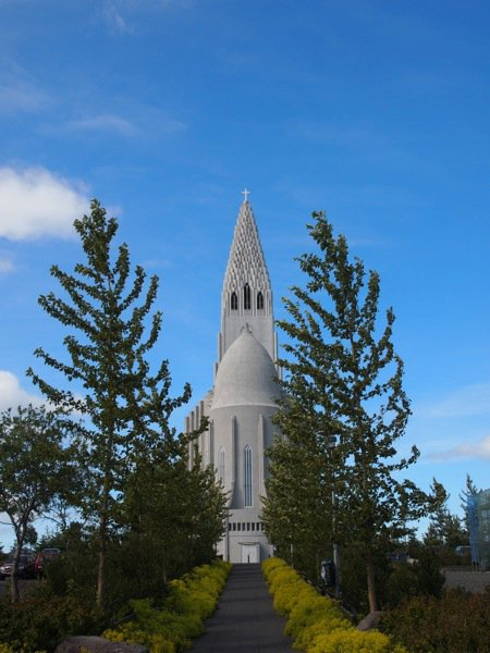 Hallgrímskirkja Kirche Reykjavik