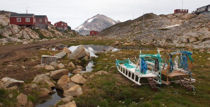 Hundeschlitten Grönland