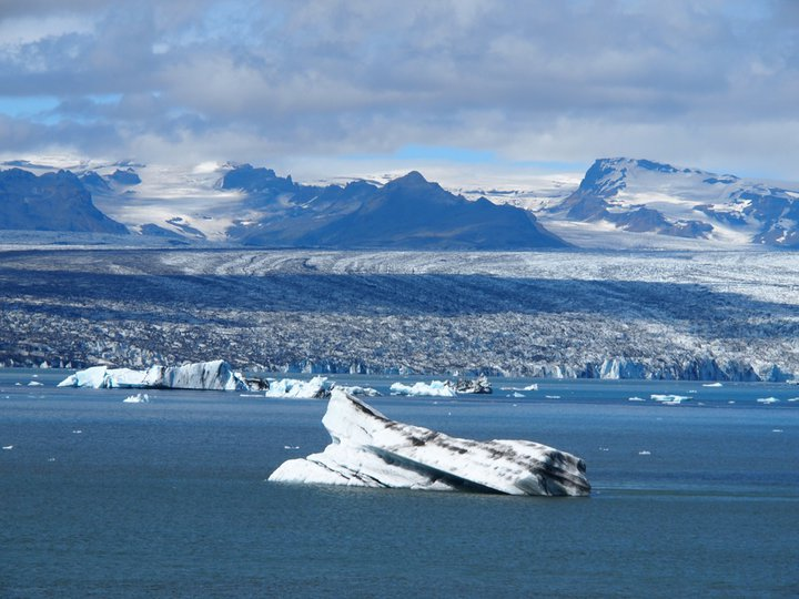 Jökulsarlon Island Eis