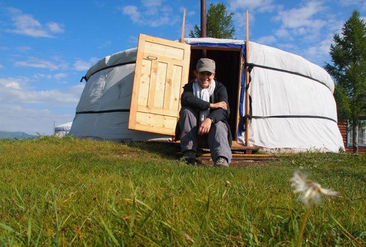Jurte Ger Nomadenzelt Mongolei