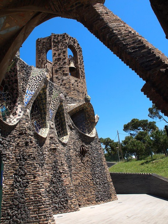 Kolonie Guell Gaudi Katalonien