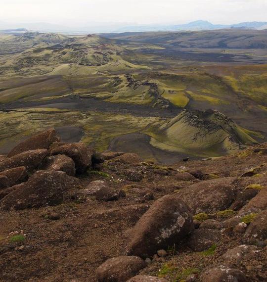 Krater-Reihe-Laki