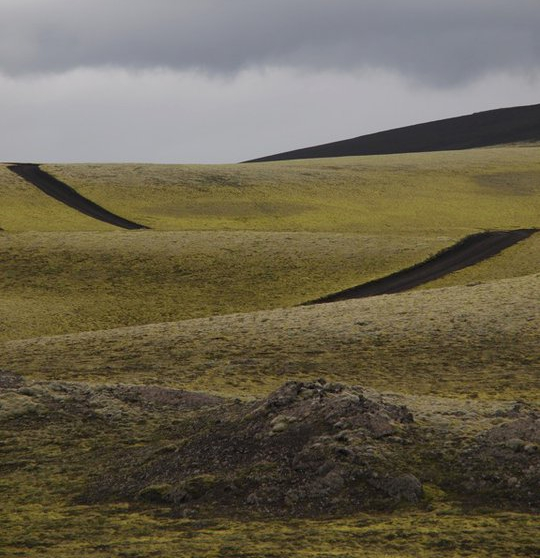 Landschaft Island Laki