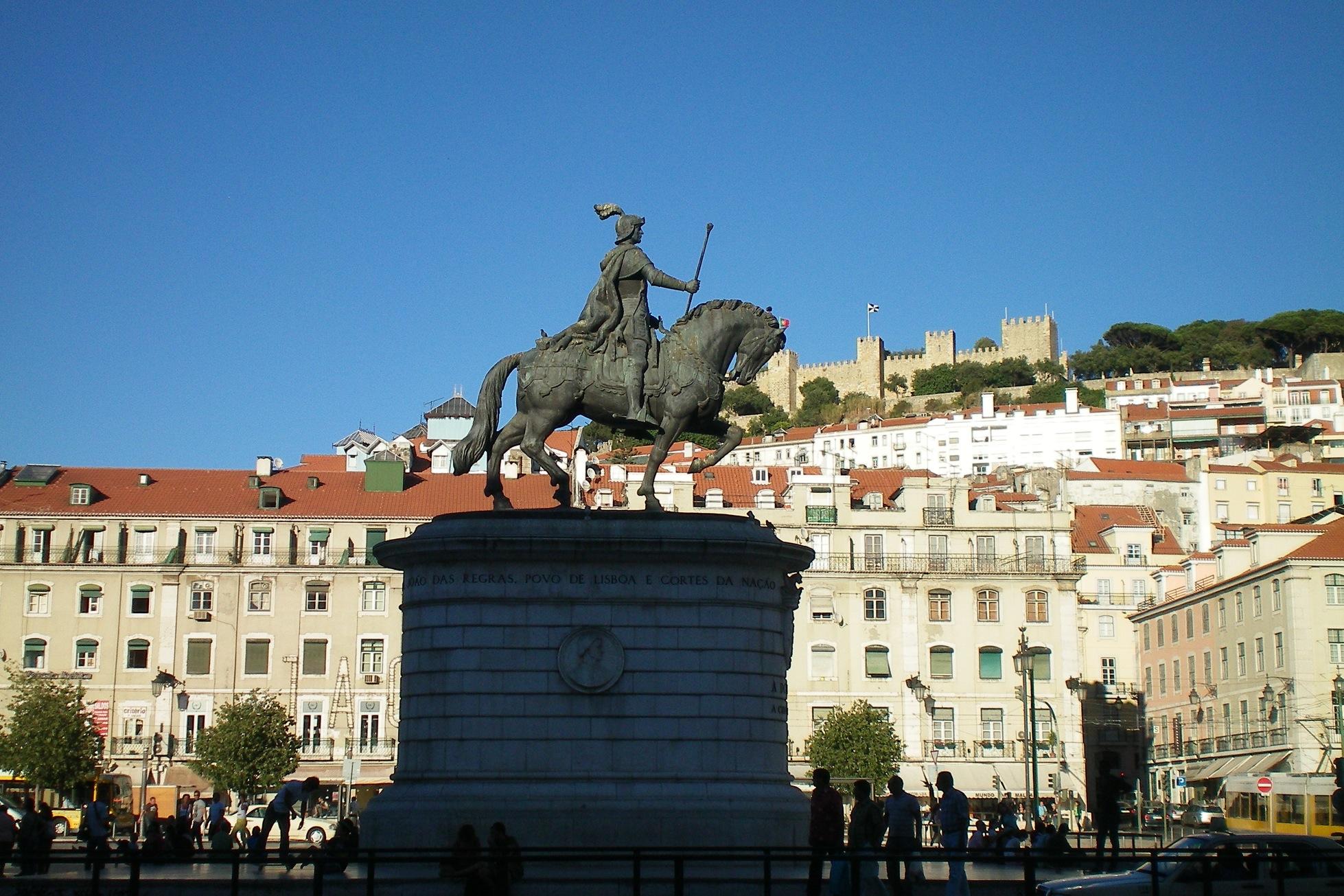 Lissabon Hauptplatz