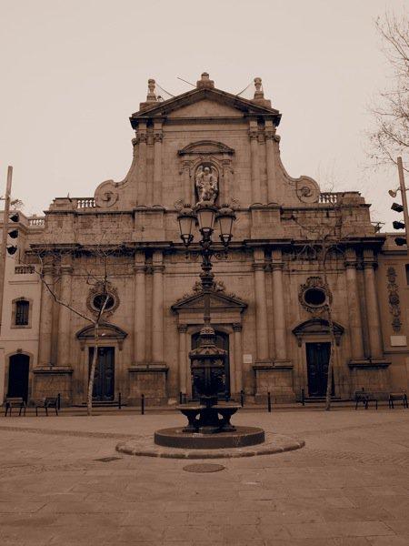 Plaza San Miguel Barcelona