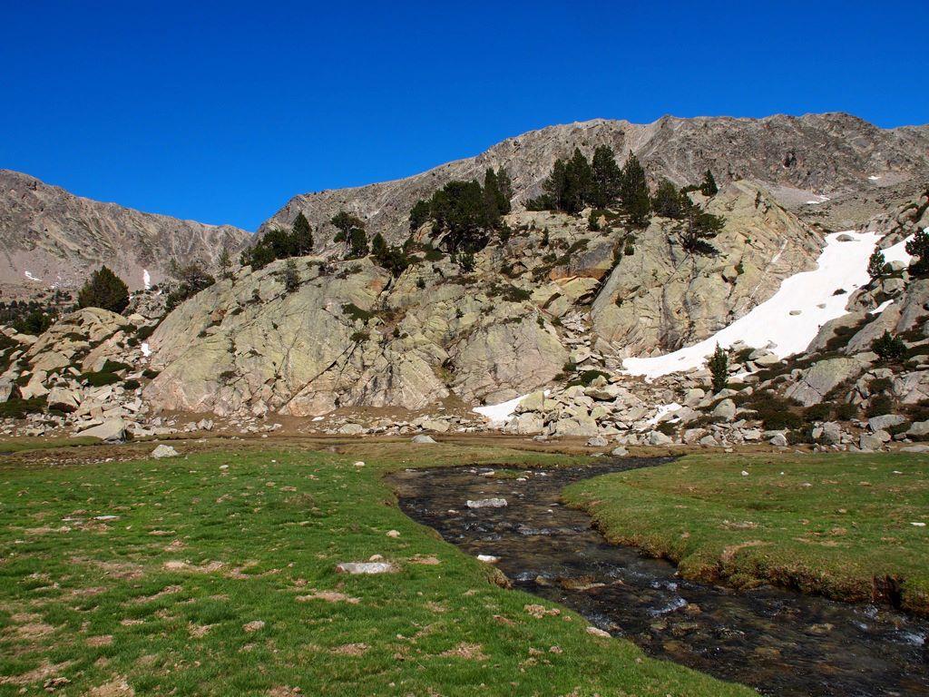 Pyrenäen Wanderung