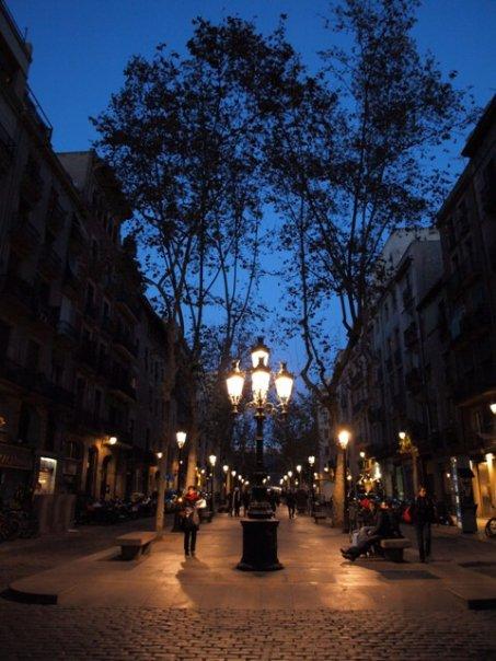 Rambla del Born Barcelona