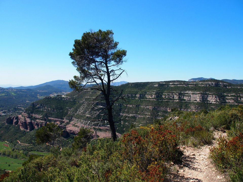 Riells de Fai Katalonien Wandern