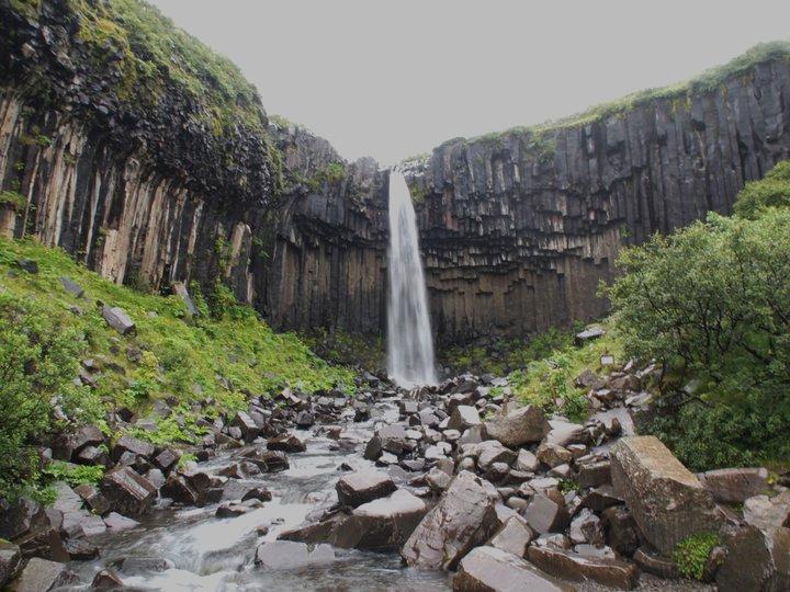 Svartifoss Wasserfall