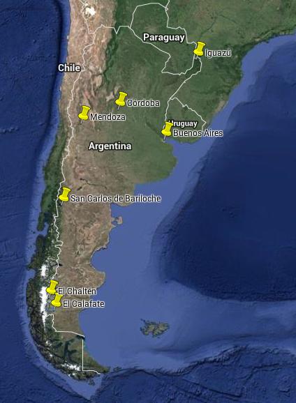 Weltreise Argentinien