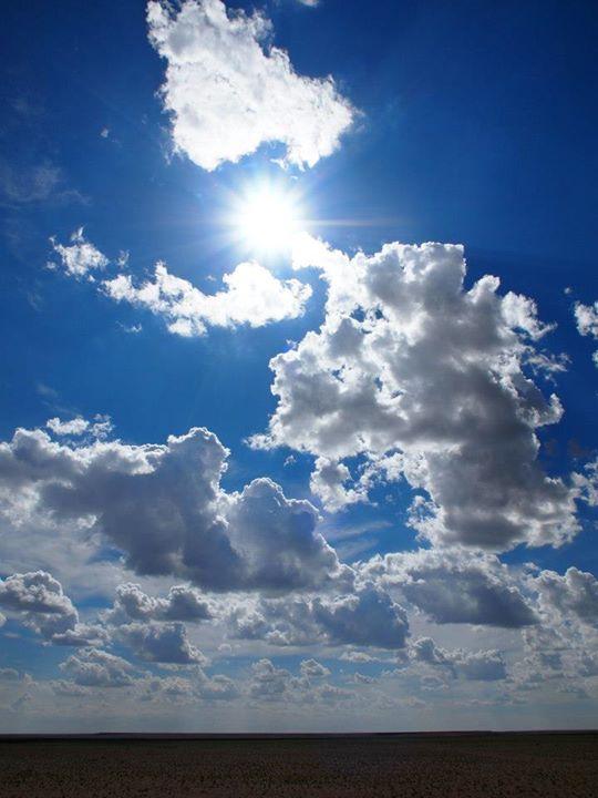 Wolkenlandschaft Mongolei