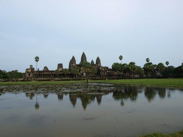 Angkor Wat Kambodscha See