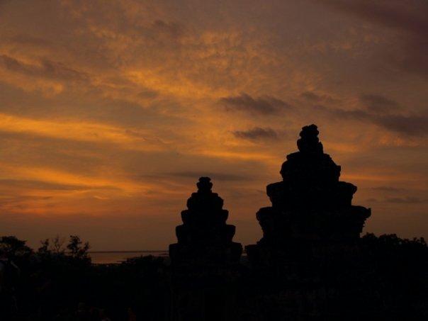 Angkor Wat Sonnenuntergang