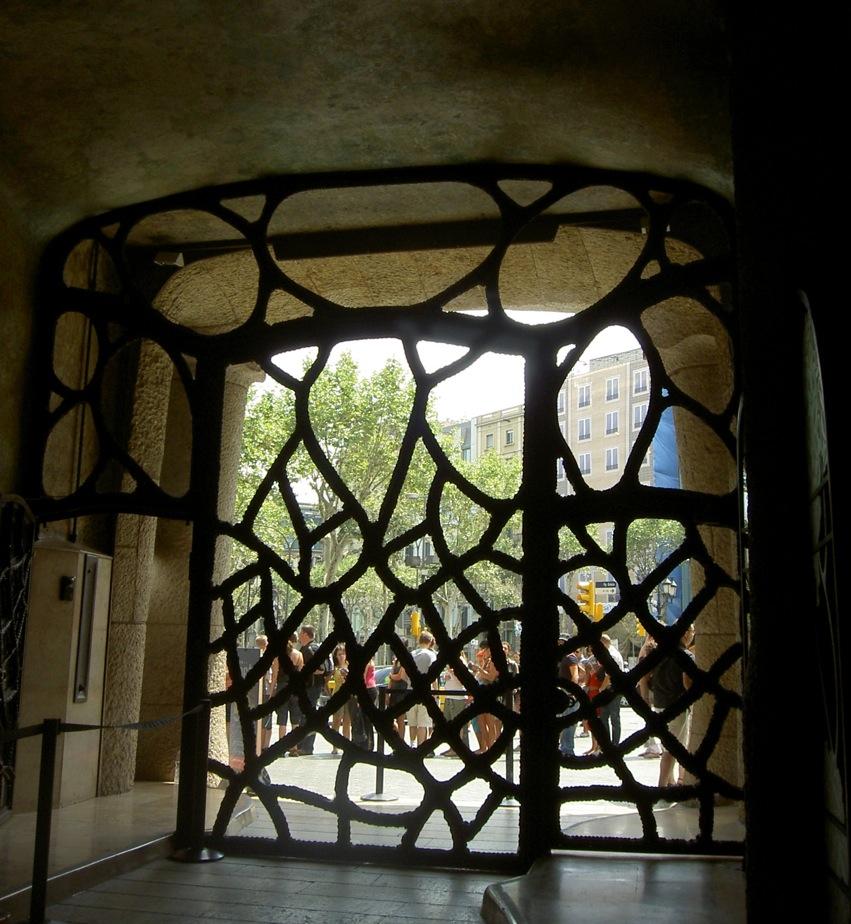 Casa Mila Eingang