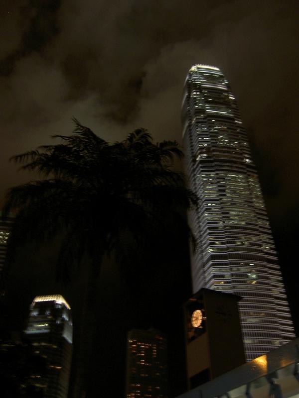 Hongkong Wolkenkratzer