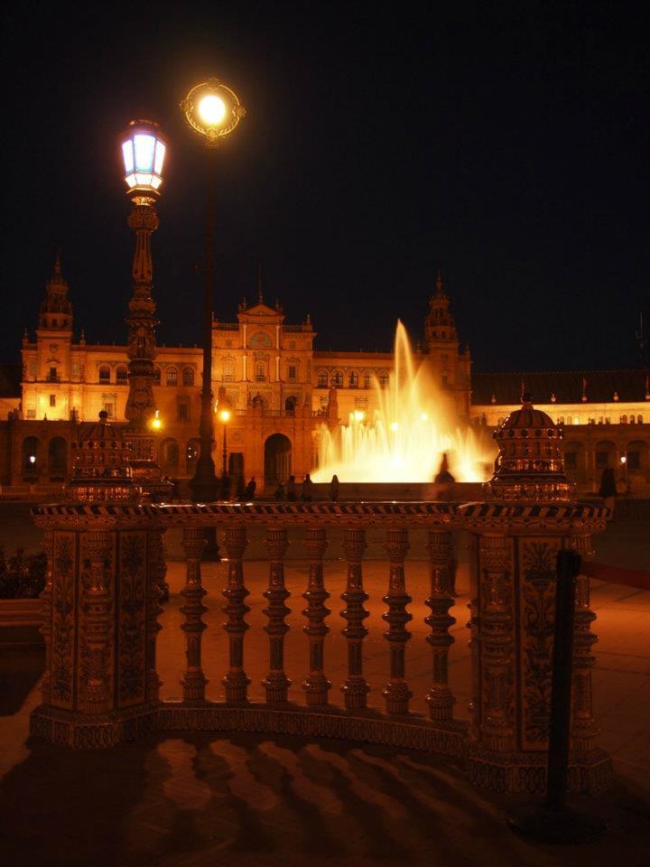 Plaza España Nacht