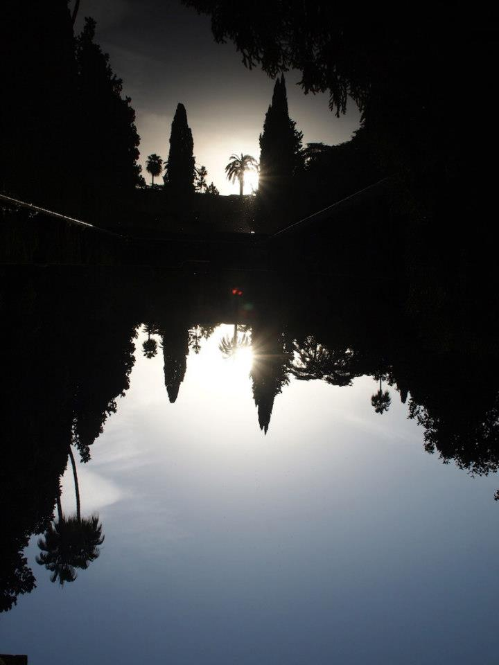 Sevilla Alcazar Garten