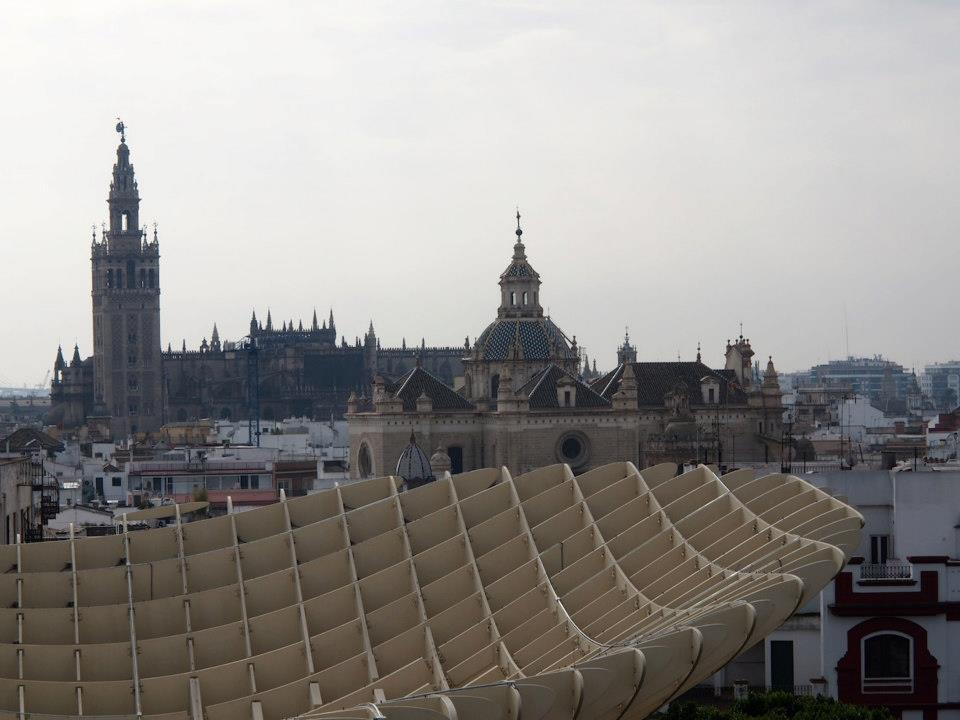 Sevilla Blick Giralda