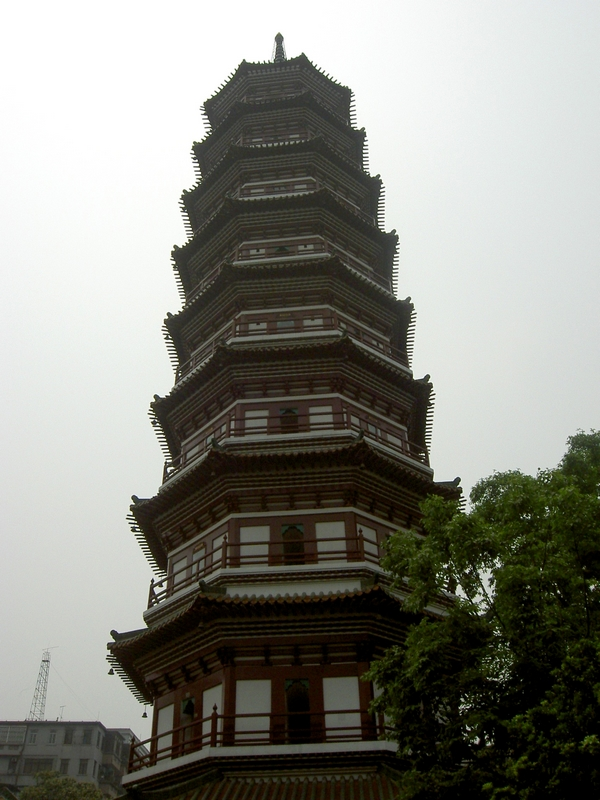 Pagode des Tempels der Sechs Banyanbäume Guangzhou