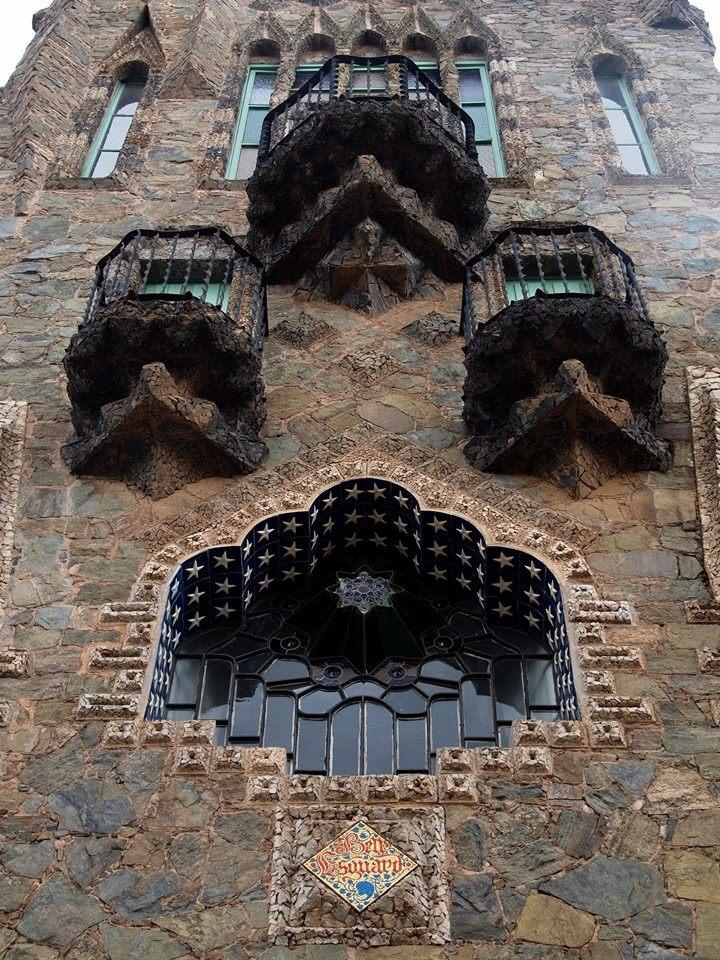Torre Bellesguard Fassade