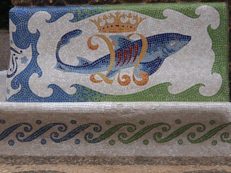 Torre Bellesguard Mosaik