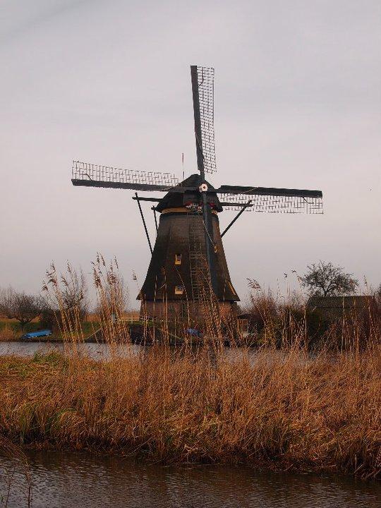 Windmühlen Kinderdijk