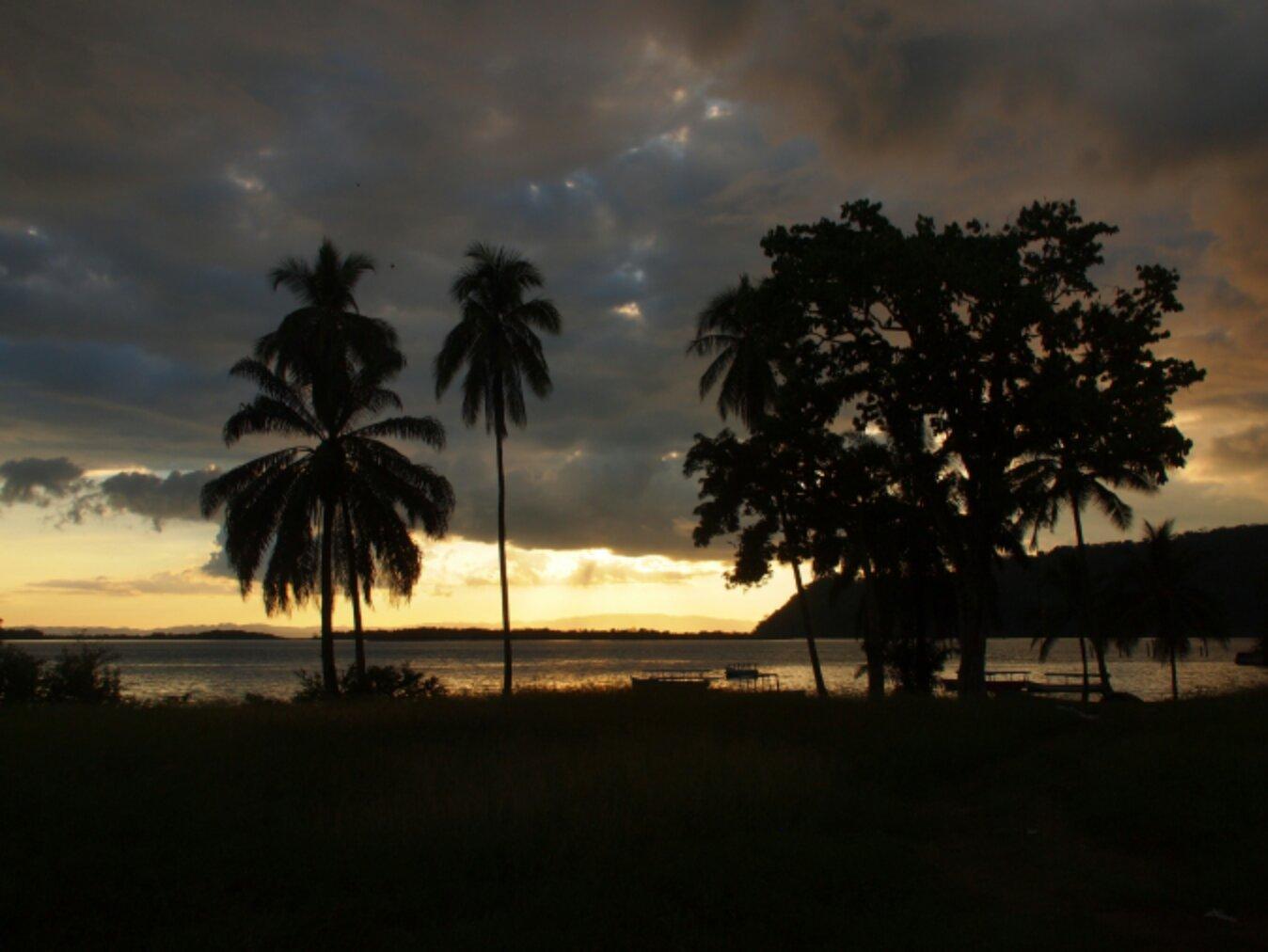 Sonnenuntergang Golfito