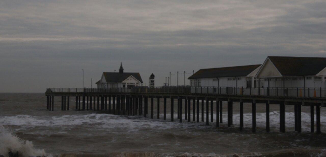 Strand Großbritannien