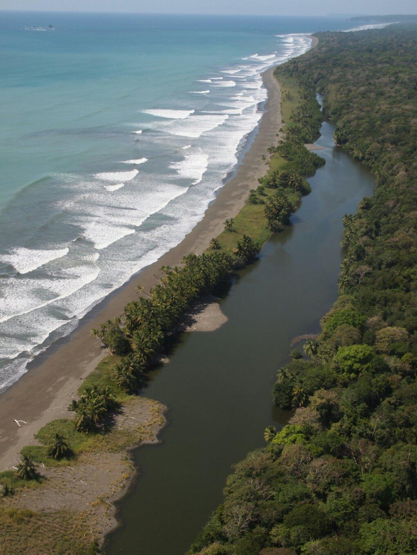Luftaufnahmen aus dem Corcovado Nationalpark