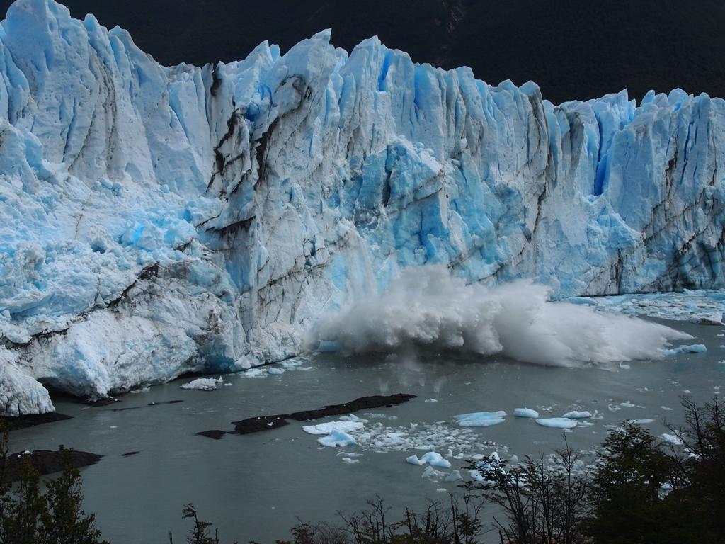 Eisbrocken Gletscher Perito Moreno