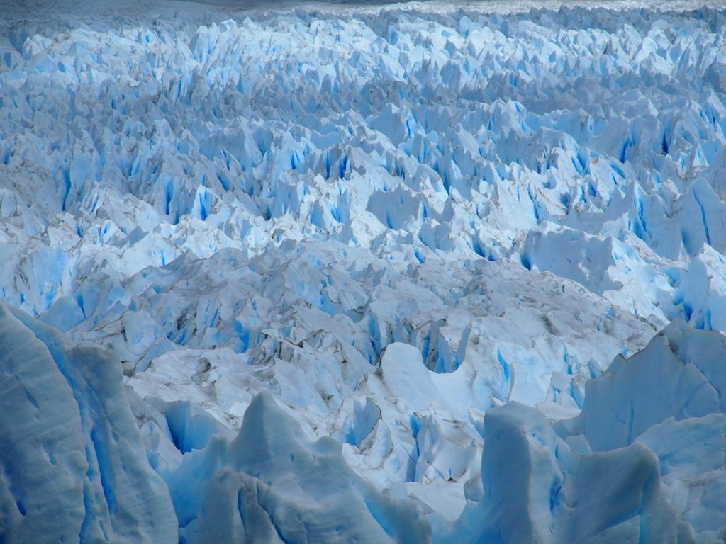 Gletscher Eis Argentinien