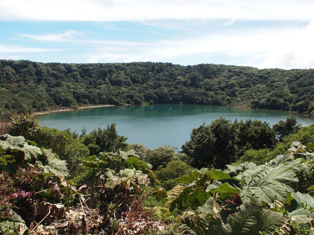 Lagune Vulkan Poas