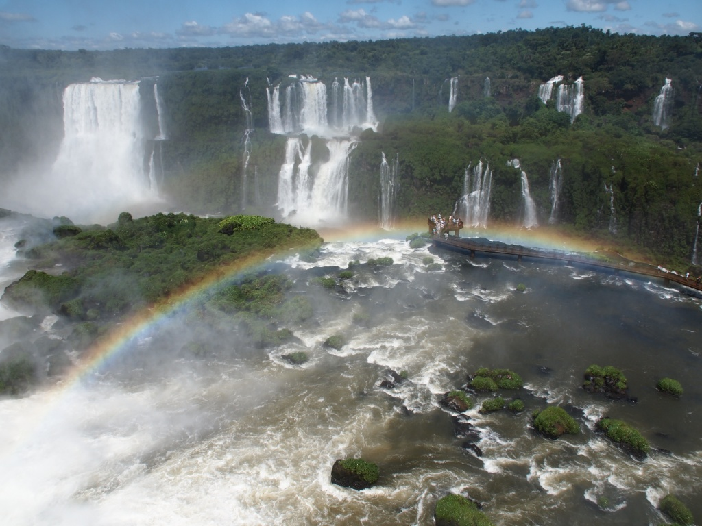 panorama iguaçu brasilien