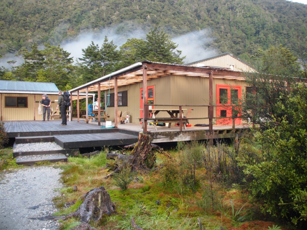 Clinton hut Neuseeland