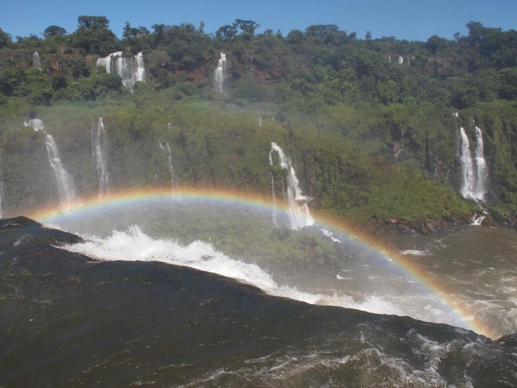 iguaçu regenbogen