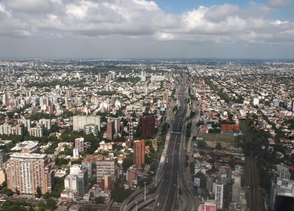 Luftansicht Buenos Aires