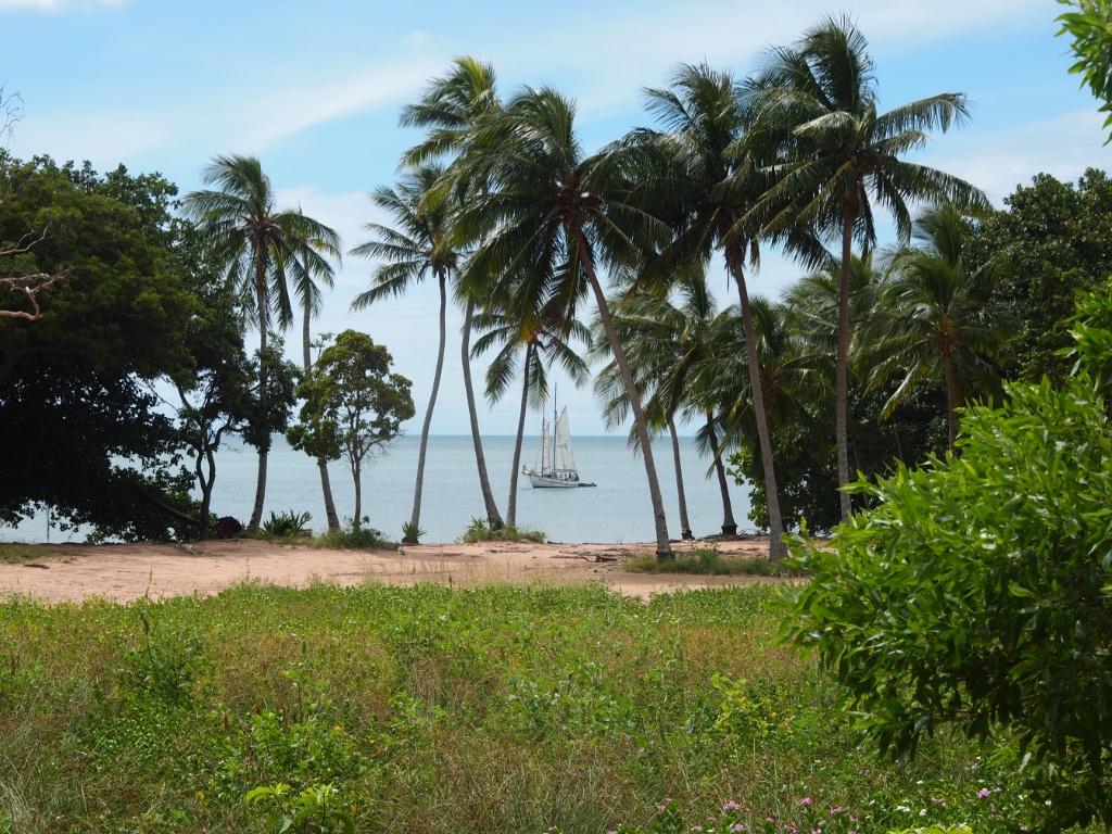 Bucht magnetic island
