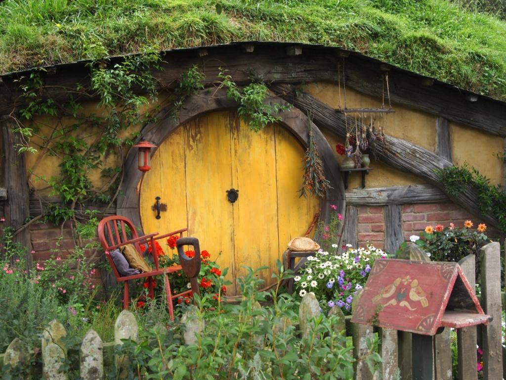 Erdloch hobbiton