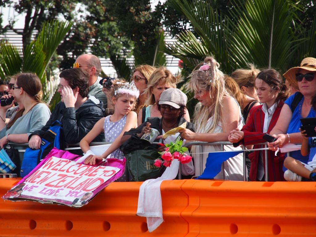 Fans royals auckland