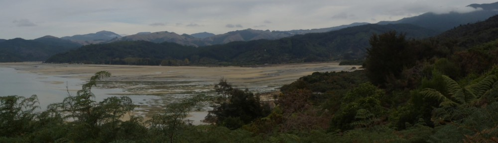 Sandy bay panorama