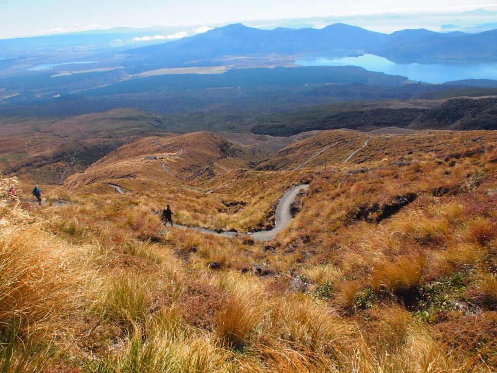 Tongariro crossing wanderweg
