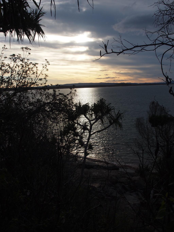 Sonnenuntergang noosa-