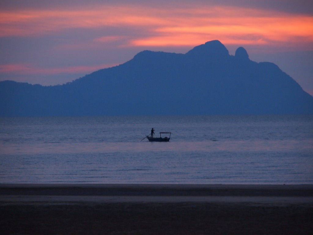 Sonnenuntergang sarawak